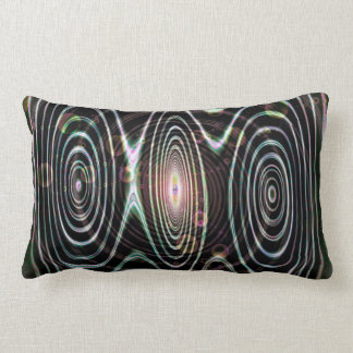 Space worlds, spirals of time lumbar cushion