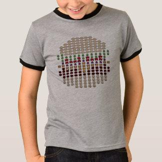 Space zombies flash mob custom design t-shirt