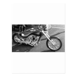 Spaceage Motorcycle Postcard