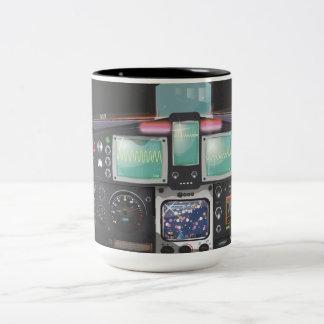 Spacecraft Console Coffee Mugs