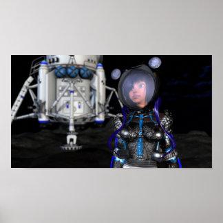 SpaceGirl - The Future of SPACE! Poster
