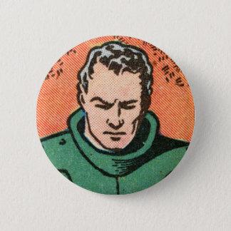 Spacehawk by Basil Wolverton II 6 Cm Round Badge
