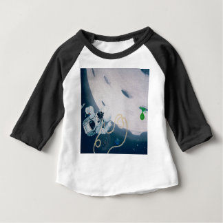Spaceman and Moon Baby T-Shirt
