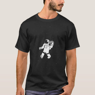 Spaceman Boom Box T-Shirt