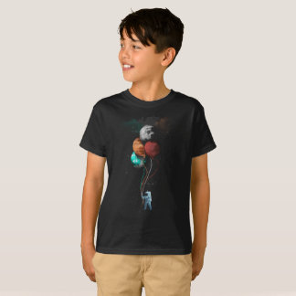 Spaceman In Cosmic Space T-Shirt