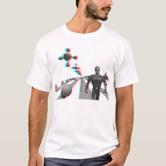 Spaceport: red-cyan anaglyph T-Shirt