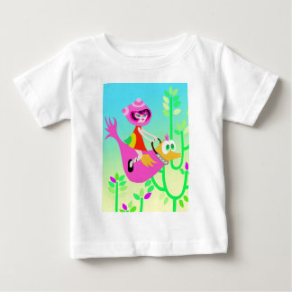 Spaceship Betty and a Magical Ride Baby T-Shirt