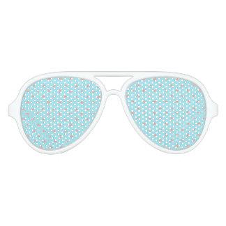Spaceship Cartoon Pattern Drawing Aviator Sunglasses