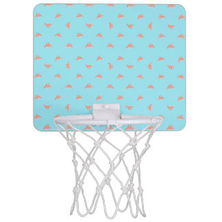 Spaceship Cartoon Pattern Drawing Mini Basketball Hoop