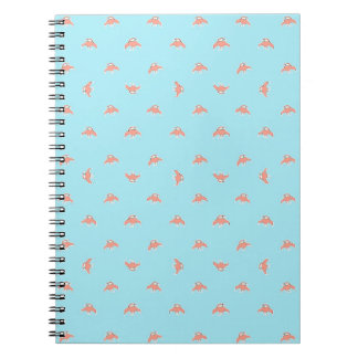 Spaceship Cartoon Pattern Drawing Notebook
