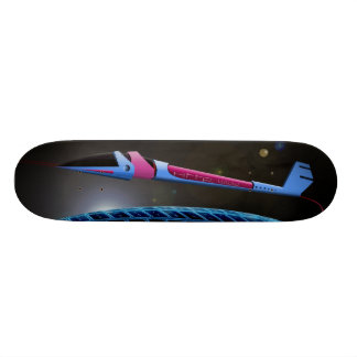 Spaceship in the space skate boards