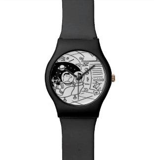 Spaceship Wristwatch