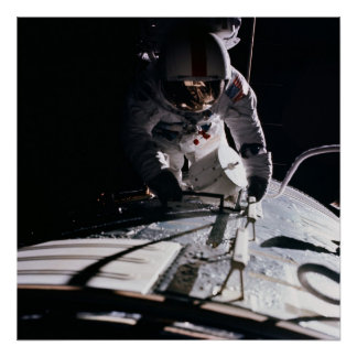 Spacewalk (Apollo 17) Poster