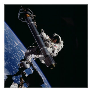 Spacewalk (STS-101) Poster