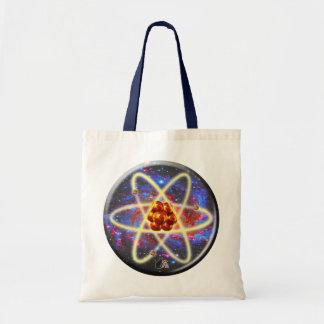 Spacey Atomic Budget Tote Bag
