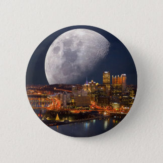 Spacey Pittsburgh 6 Cm Round Badge