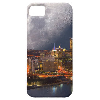 Spacey Pittsburgh Barely There iPhone 5 Case