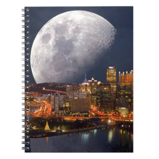 Spacey Pittsburgh Notebooks