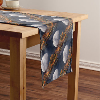 Spacey Pittsburgh Short Table Runner