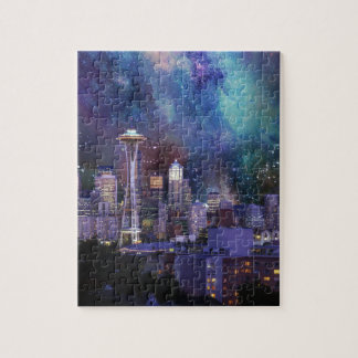 Spacey Seattle Jigsaw Puzzle