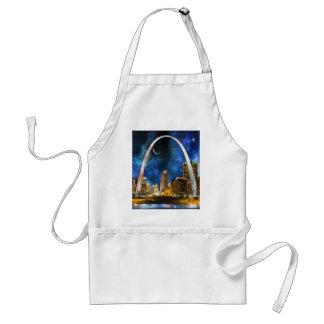 Spacey St. Louis Skyline Standard Apron