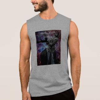 SpaceyMoose Sleeveless (Grey) Sleeveless Shirt
