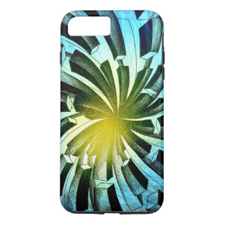 Spacial Fireworks - Apple iPhone Case