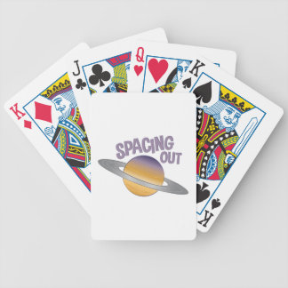 Spacing Out Bicycle Playing Cards