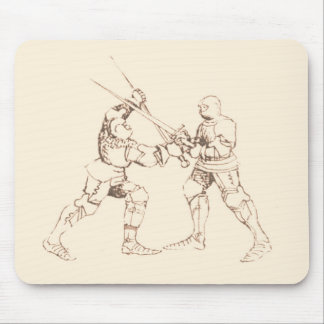 Spada in Arme' Mouse Pad