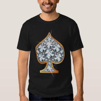 Spade Diamond Bling T-Shirt
