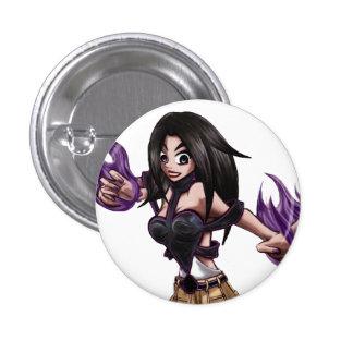 SPADE Mini Button (White)