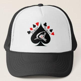 Spade Poker Hat! Trucker Hat