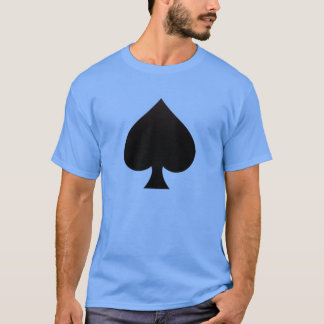 Spade - Suit of Cards Icon T-Shirt