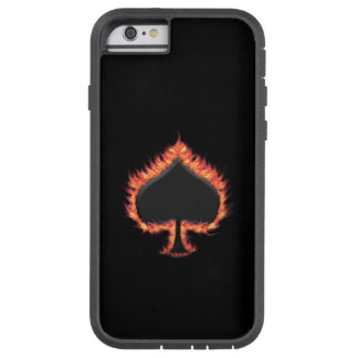 Spades Flames Tough Xtreme iPhone 6 Case