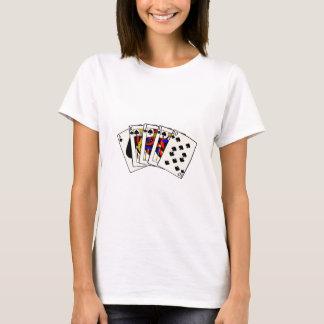 Spades Royal Flush T-Shirt