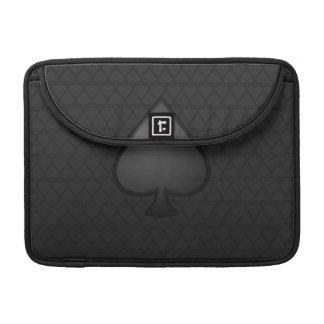 Spades Symbol Macbook Pro Laptop Sleeve