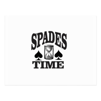 spades time yeah postcard
