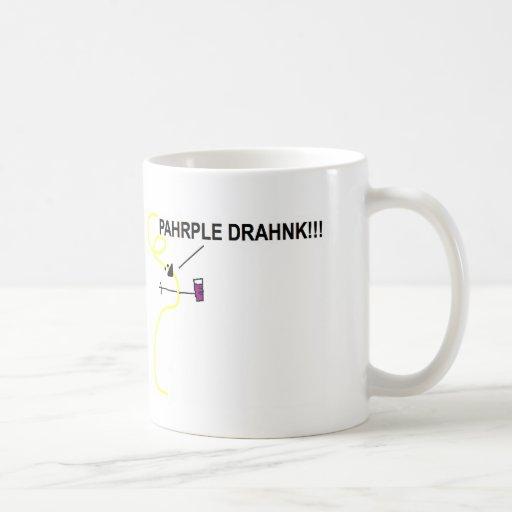 Spaghatta Nadle Pahrple Drahnk Mug