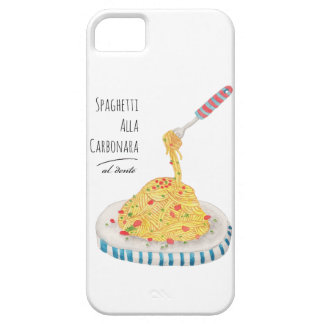 Spaghetti Alla Carbonara Case For The iPhone 5