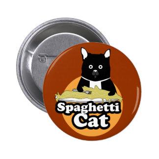 Spaghetti Cat 6 Cm Round Badge