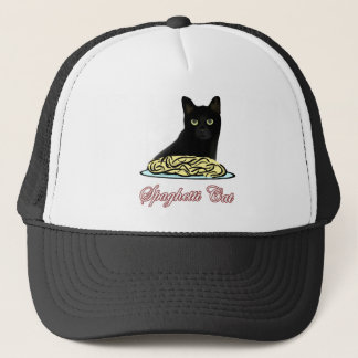 Spaghetti Cat Eloquence Trucker Hat