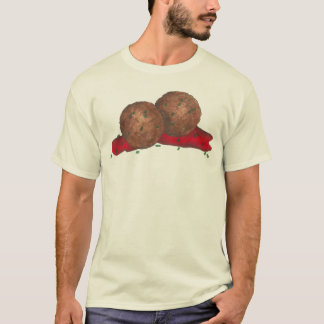 Spaghetti Meatballs Marinara Sauce Italian Food T-Shirt
