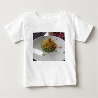 Spaghetti with bottarga on asparagus sauce baby T-Shirt