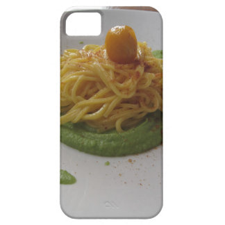 Spaghetti with bottarga on asparagus sauce barely there iPhone 5 case