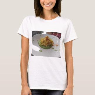 Spaghetti with bottarga on asparagus sauce T-Shirt