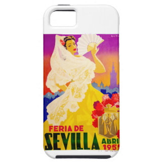 Spain 1955 Seville April Fair Poster iPhone 5 Covers