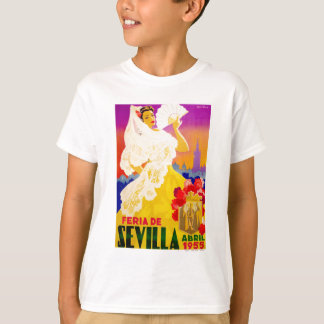 Spain 1955 Seville April Fair Poster T-Shirt