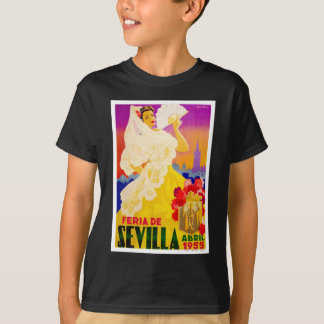Spain 1955 Seville April Fair Poster T-Shirt