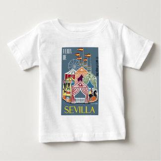 Spain 1960 Seville Festival Poster Baby T-Shirt
