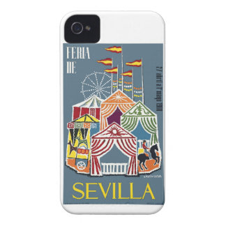 Spain 1960 Seville Festival Poster Case-Mate iPhone 4 Cases